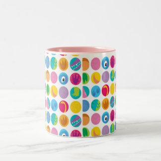Circles  Two-Tone Mug