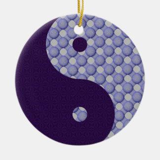 Circles Within Circles Yin Yang Ornament