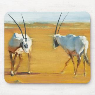 Circling Arabian Oryx 2010 Mouse Mat