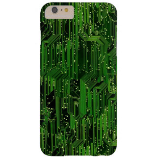 Circuit board background barely there iPhone 6 plus case