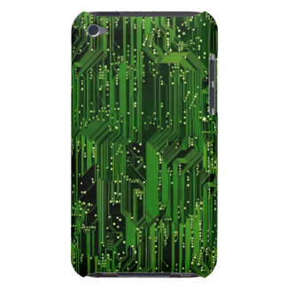 Circuit board background barely there iPod case