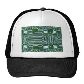 Circuit Board Background Cap