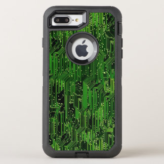 Circuit board background OtterBox defender iPhone 8 plus/7 plus case
