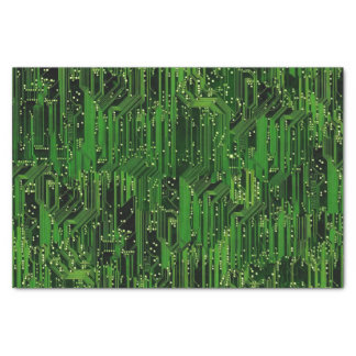 Circuit board background tissue paper