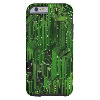 Circuit board background tough iPhone 6 case