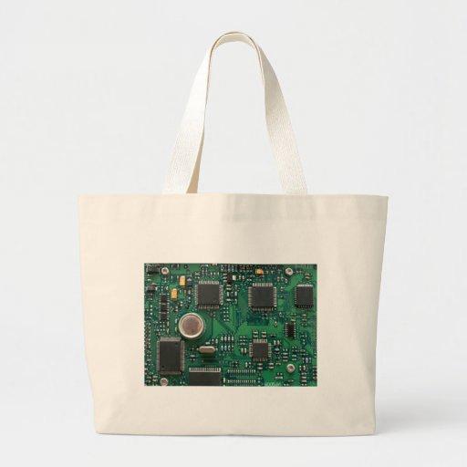 Circuit Board Canvas Bags