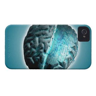 Circuit Board Brain 2 iPhone 4 Cases
