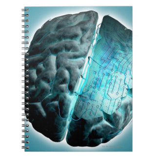 Circuit Board Brain 2 Notebook