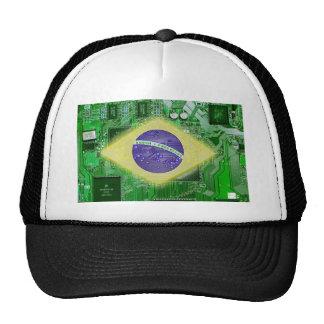 circuit board Brazil Hat