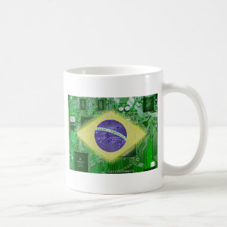 circuit board Brazil Coffee Mug