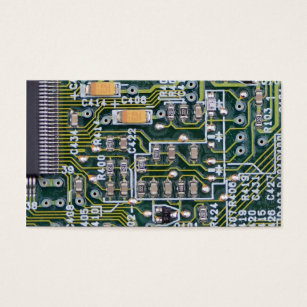 Circuit board business cards business card printing zazzle uk circuit board business card colourmoves