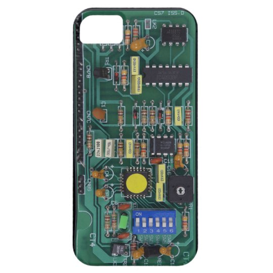 Circuit Board Case For The iPhone 5