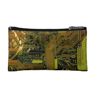 Circuit board Cosmetic Bag