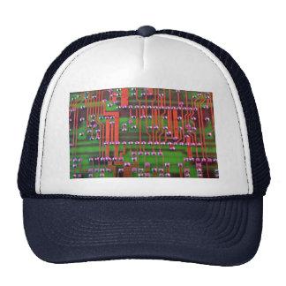 Circuit board design mesh hat