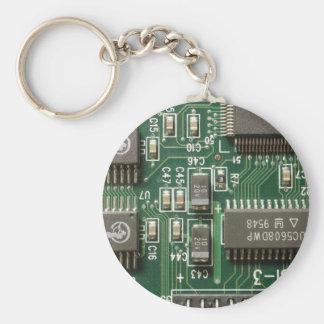 Circuit Board Design Key Chain