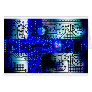 circuit board Finland Card