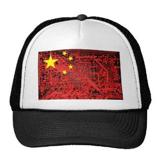 circuit board Flag (China) Cap