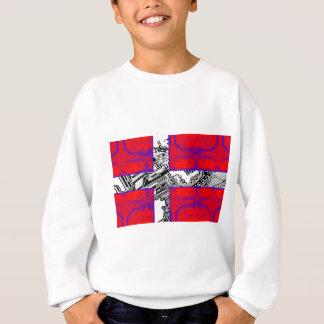 circuit board Flag (Denmark) Sweatshirt