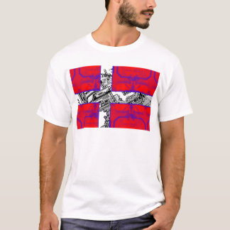 circuit board Flag (Denmark) T-Shirt