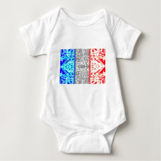 circuit board France Baby Bodysuit