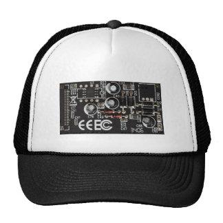Circuit Board Mesh Hats