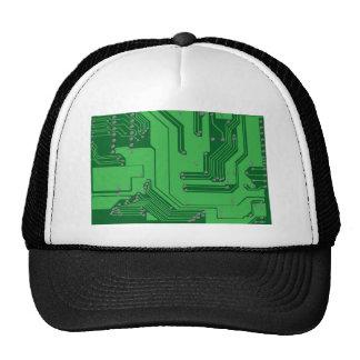 Circuit Board Mesh Hat