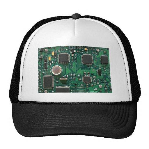 Circuit Board Trucker Hats