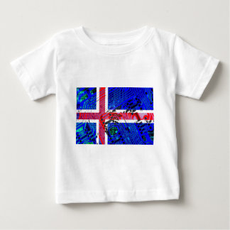 circuit board iceland (Flag) Baby T-Shirt