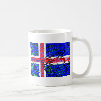 circuit board iceland (Flag) Coffee Mug