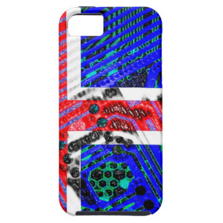 circuit board iceland (Flag) iPhone 5 Case