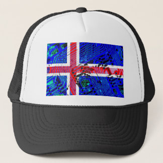 circuit board iceland (Flag) Trucker Hat
