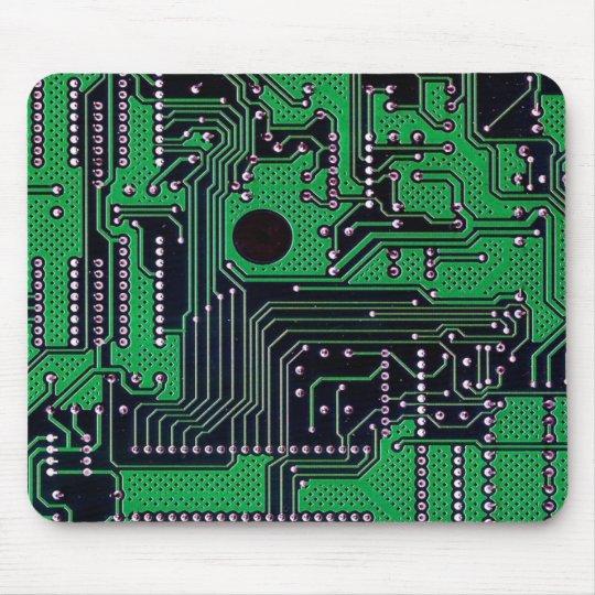 Circuit board mouse mat