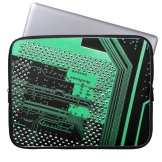 Circuit Board Neoprene Laptop Sleeve 15 inch