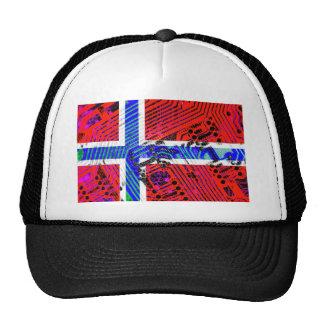 circuit board Norway (Flag) Hat