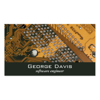 Circuit Board Pack Of Standard Business Cards