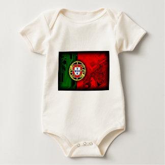 circuit board Portugal (Flag) Baby Bodysuit