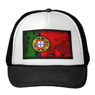 circuit board Portugal (Flag) Cap