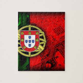 circuit board Portugal (Flag) Jigsaw Puzzle