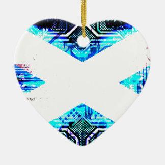 circuit board scotland (Flag) Christmas Ornament
