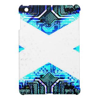 circuit board scotland (Flag) Cover For The iPad Mini