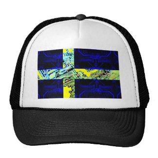 circuit board Sweden (Flag) Cap