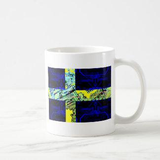 circuit board Sweden (Flag) Mug