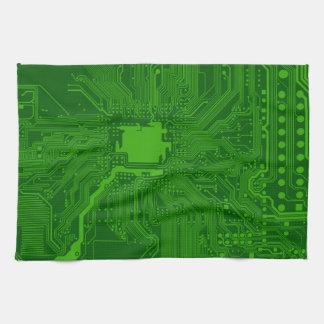 Circuit Board Tea Towel