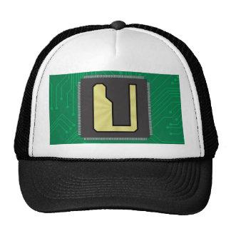 CIRCUIT BOARD U TRUCKER HATS
