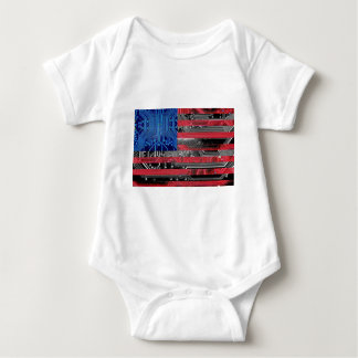 circuit board USA Baby Bodysuit