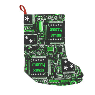 Circuit Green 2 'Merry Xmas' stocking