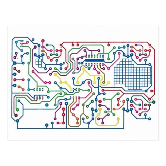 Circuit Postcard