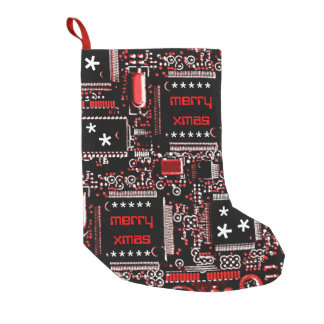 Circuit Red 2 'Merry Xmas' stocking