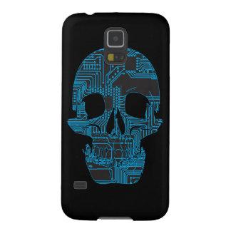 Circuit Skull Galaxy S5 Cases