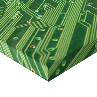 Circuit wrapping paper gallery wrapped canvas